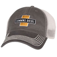 BALL CAP - CUMMINS DIESEL CROSS MESH CAP