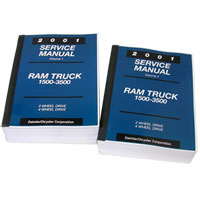 DODGE RAM FACTORY SERVICE MANUAL - PRINT ('01)