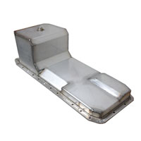 STAINLESS STEEL OIL PAN - SNO DEPOT ('03-'09, 6.7L and 5.9L)