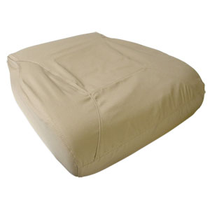 SEAT COVER - FRONT - DRIVER SIDE - TAUPE ('98-'02, QUAD & EXTENDED CAB) *SEAT BOTTOM ONLY*
