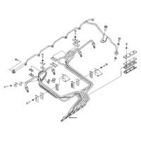 '94-'98, 12V Dodge Cummins Fuel Injector Line #2 Schematic