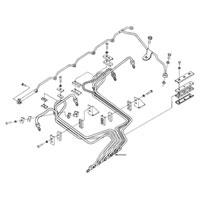 '94-'98, 12V Dodge Cummins Fuel Injector Line #5 Schematic