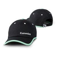 CAP - CUMMINS LADIES BLACK & TEAL