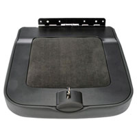 Dodge Ram Gray Center Console Lid