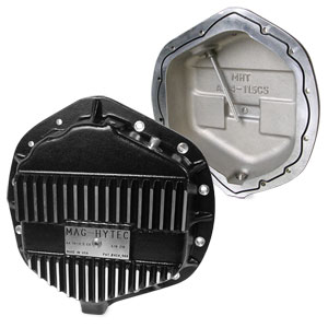 DIFFERENTIAL COVER - MAG-HYTEC - REAR ('14-'18, 2500 WITH COIL SPRINGS, AMERICAN AXLE)