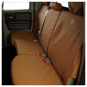 CARHARTT SEAT COVER - REAR - COVERCRAFT ('03, QUAD CAB - 60/40)