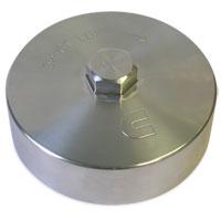 FUEL FILTER CANISTER CAP - BILLET ALUMINUM ('10+ 6.7L)