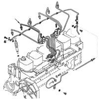 '89-'93 Dodge Cummins Diesel Fuel Injector Line #2