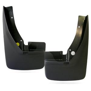 SPLASH GUARDS - MOPAR - FRONT ('10-'18, 2500/3500 W/OEM FENDER FLARES)