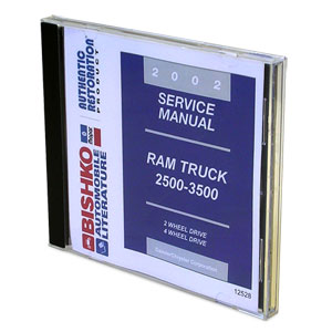 2002 dodge ram factory service manual cd rh genosgarage com Dodge Factory Service Manual Auto Mobile Manuals
