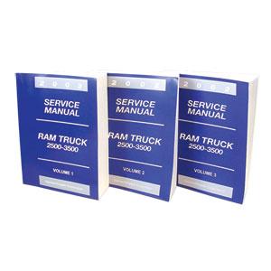 DODGE RAM FACTORY SERVICE MANUAL - PRINT ('02)