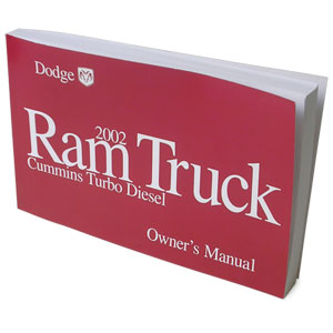 2002 dodge ram owners manual turbo diesel rh genosgarage com 2002 dodge ram service manual pdf 2002 dodge ram 1500 sport owners manual