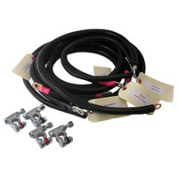 HEAVY DUTY BATTERY CABLE KIT ('98.5-'02)