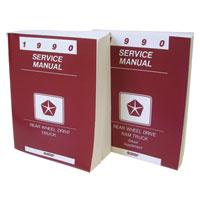 DODGE RAM FACTORY SERVICE MANUAL - PRINT ('90)