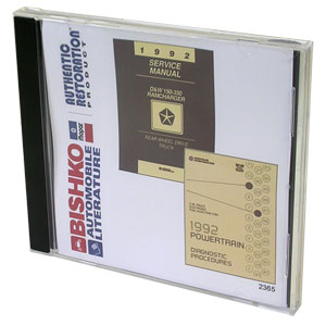 DODGE RAM FACTORY SERVICE MANUAL - CD ('92)