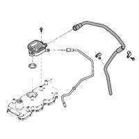 '03-'07, 5.9L Dodge Diesel Crankcase Breather Vent Tube