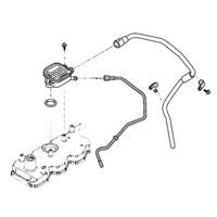 '03-'07, 5.9L Dodge Diesel OEM Crankcase Breather Oil Drain Tube
