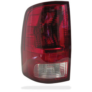 TAIL LIGHT - NON-LED - DRIVER SIDE - MOPAR ('10-'18, 2500/3500)