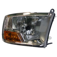 HEADLIGHT - W/O QUAD HEADLIGHTS - PASSENGER SIDE - MOPAR  ('10-'12, 2500/3500)