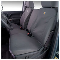 CARHARTT SEATSAVERS - FRONT - COVERCRAFT ('17-'18, 2500/3500, 40/20/40  ADJ. HDRST/FOLD DOWN CONSOLE/FLOOR STORAGE/AIRBAG)