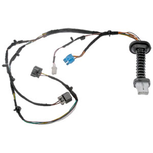 REAR DOOR HARNESS WITH CONNECTORS (LEFT OR RIGHT) - DORMAN ('04-'09, QUAD CAB)