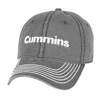 BALL CAP - CUMMINS QUARRY (CHARCOAL)