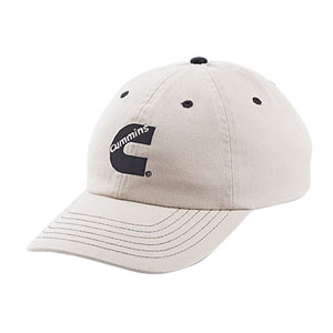 BALL CAP - CUMMINS CONTRAST (KHAKI)