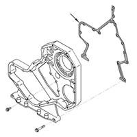 '89-'02 Dodge Diesel Gear Housing to Engine Block Gasket