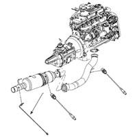 6.7L Dodge Cummins EGT Sensor 5149085AC