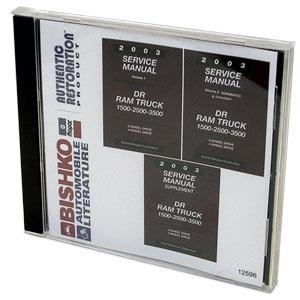 DODGE RAM FACTORY SERVICE MANUAL - CD ('03)