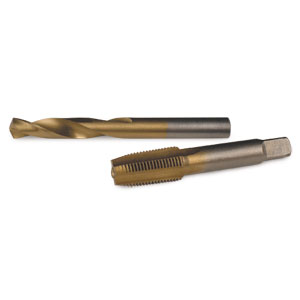 DRILL AND TAP KIT - 1/8 NPT
