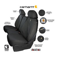 Dodge Ram Carhartt 40/20/40 Front Seat Covers Features