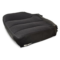OEM FABRIC BOTTOM SEAT COVER - DARK SLATE - DRIVER SIDE - ELECTRIC ADJ. ('03-'05, 2500/3500 ALL CABS, SLT)