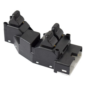 POWER WINDOW & DOOR LOCK SWITCH, DRIVER SIDE - MOPAR ('98)