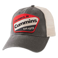 BALL CAP - CUMMINS VINTAGE LABEL