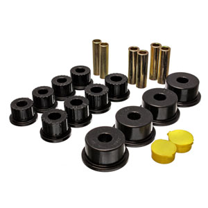 "LEAF SPRING BUSHING SET - ENERGY SUSPENSION - REAR ('94-'02, 2500/3500) 2.5"" ID"