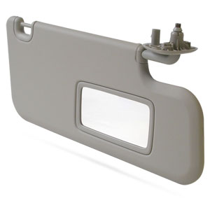 SUN VISOR - W/MIRROR ONLY - PASSENGER SIDE - MOPAR ('10-'12, 2500/3500)