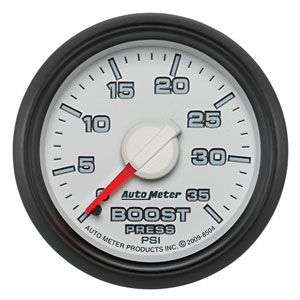 BOOST GAUGE, 35PSI - AUTOMETER - 3RD GEN FACTORY MATCH