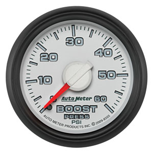 BOOST GAUGE, 60PSI (1/8 NPT) - AUTOMETER - 3RD GEN FACTORY MATCH