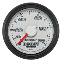 BOOST GAUGE, 100PSI (1/8 NPT) - AUTOMETER - 3RD GEN FACTORY MATCH