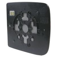 10-18 Ram Towing Mirror Glass - Passenger Side - Power/Heated