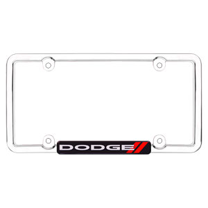 'DODGE' LICENSE PLATE FRAME