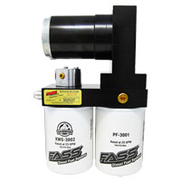 TITANIUM SIGNATURE SERIES FUEL PUMP & FILTER KIT, 100 GPH - FASS ('98.5-'04.5, 5.9L)