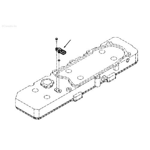 07 5-'19, 6 7L Dodge Cummins Diesel Crankcase Pressure Sensor
