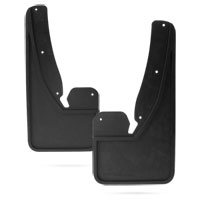 SPLASH GUARDS - MOPAR - HEAVY DUTY - FRONT ('10-'18, 2500/3500 - W/O OEM FENDER FLARES)