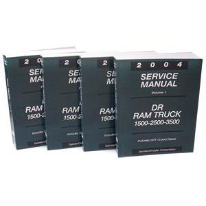DODGE RAM FACTORY SERVICE MANUAL - PRINT ('04)