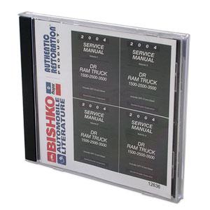 DODGE FACTORY SERVICE MANUAL - CD ('04)
