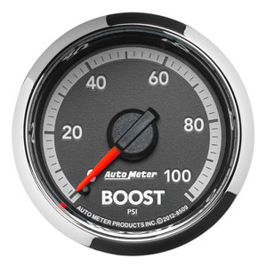 BOOST GAUGE,  100PSI  - AUTOMETER - 4TH GEN FACTORY MATCH