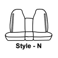 Dodge Ram Carhartt Front Seat Savers - 40/20/40