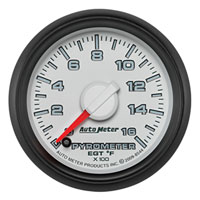 EXHAUST GAS TEMPERATURE GAUGE (0-1600 DEG) AUTOMETER - 3RD GEN FACTORY MATCH